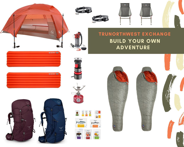 Build Your Own Adventure Rental Package (1-4 Person)