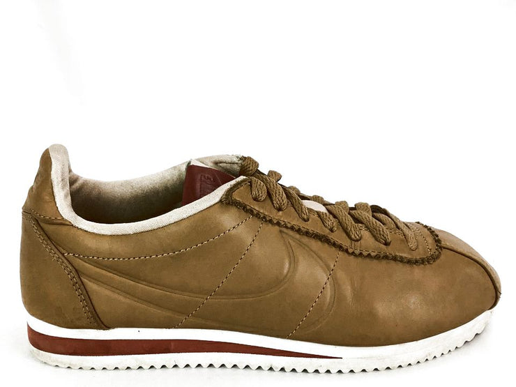 Nike Classic Cortez Prem Maria Sharapova Womens 8.5 40 Camel Leather Shoes