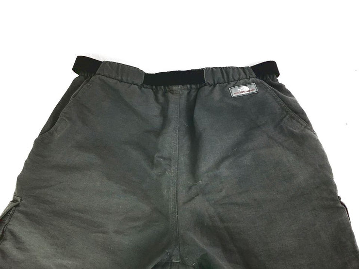 The North Face Spell Out Mens Size Small Gray Nylon Hiking Shorts