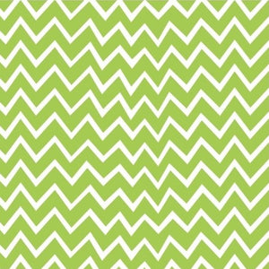 Green Zigzag by Craft Cotton Co.