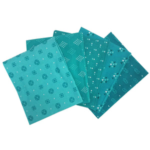 Essential Trends Aqua Fat Quarter Bundle
