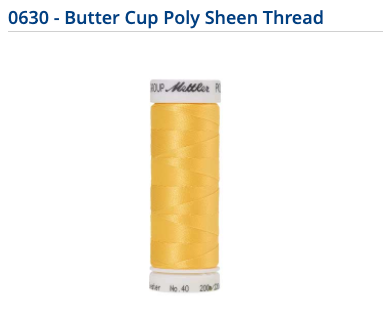 Mettler Polysheen Thread