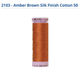Mettler Silk Finish Cotton Thread - 1531 - 6255