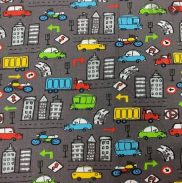 Cars Onyx by Craft Cotton Co.