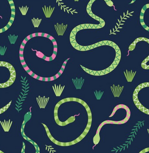Everglades Snakes by Craft Cotton Co.