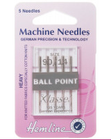 Machine Needles (Ball Point) - Hemline