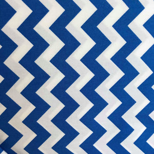 Royal Blue Chevron by Rose and Hubble