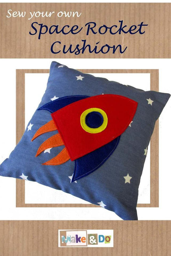 Sew Your Own Rocket Cushion Kit
