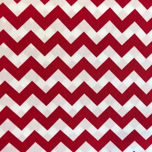 Red Chevron by Rose and Hubble