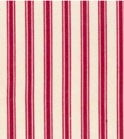Maroon Deck Chair Stripe by Rose and Hubble