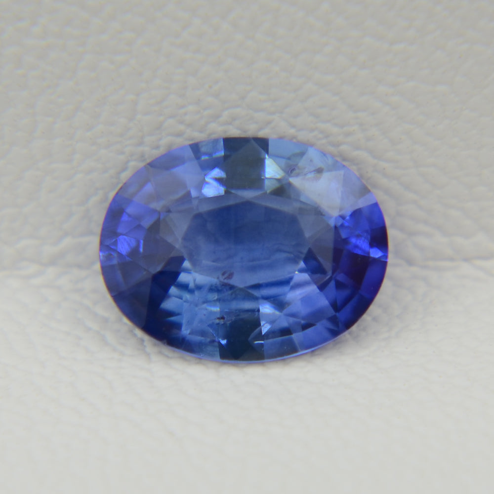 Natural ceylon blue sapphire 2.03 ct / Натуральный цейлонский сапфир 2.03 карата