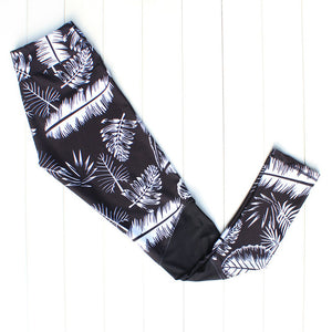 Zen Yoga Tropical Rainforest Leggings