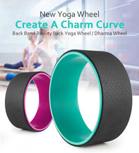 Zen Yoga Wheel Pink/Black