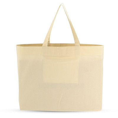 The Everyday Tote in Fair Trade + GOTS Organic Cotton