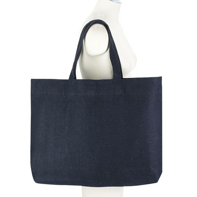 Women-Made Everyday Tote in Dark Denim