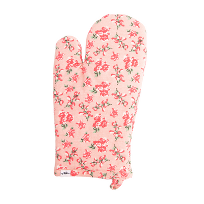 Ditsy Derby Oven Mitt + Pot Holder Set