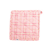Pink Scotty Oven Mitt + Pot Holder Set