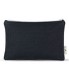 Women-Made Medium Zip Pouch in Dark Denim