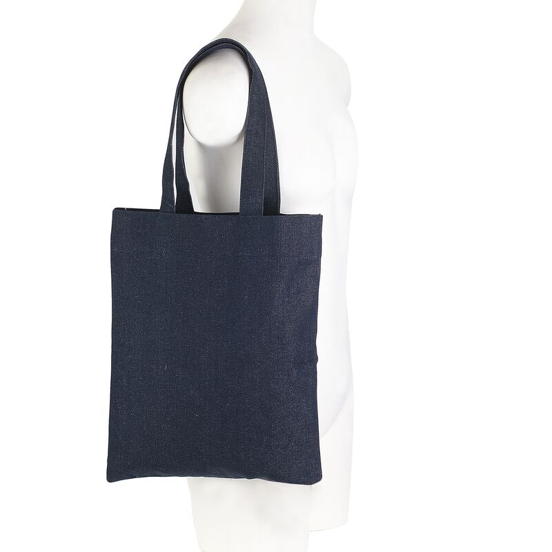 Women-Made Simple Tote in Dark Denim