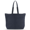 Women-Made Commuter Tote in Dark Denim