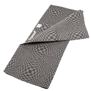 Linen Kitchen Towel - Blue - Checked