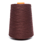 100% Linen Yarn - Chocolate Brown