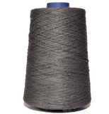 100% Linen Yarn - Dark Gray