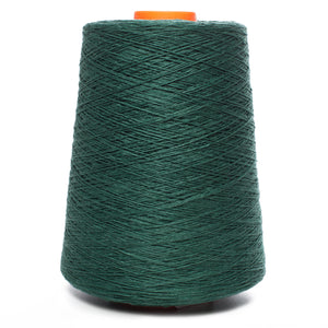 100% Linen Yarn - Dark Green