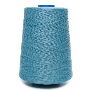 100% Linen Yarn - Light Turquoise Color