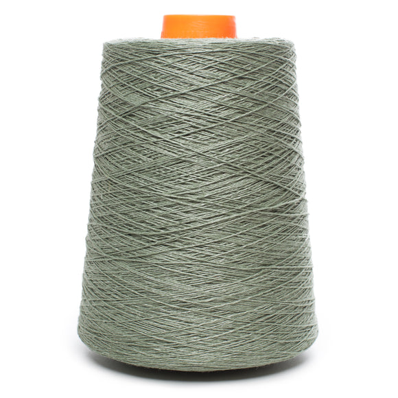100% Linen Yarn - Khaki Green