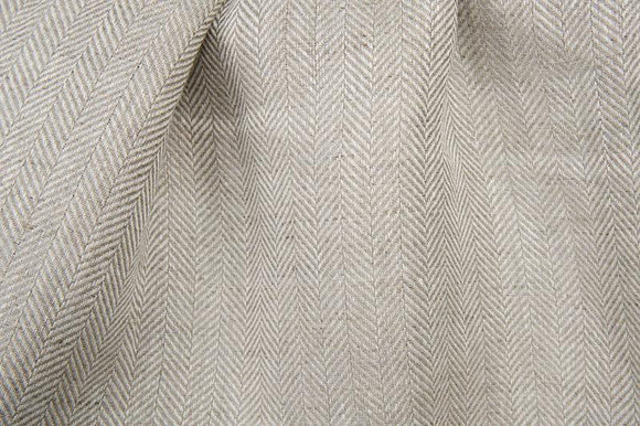 6.05 oz./yd Pure flax Linen Fabric by the yard by the yard - made in Europe - Medium Weight - Width 60