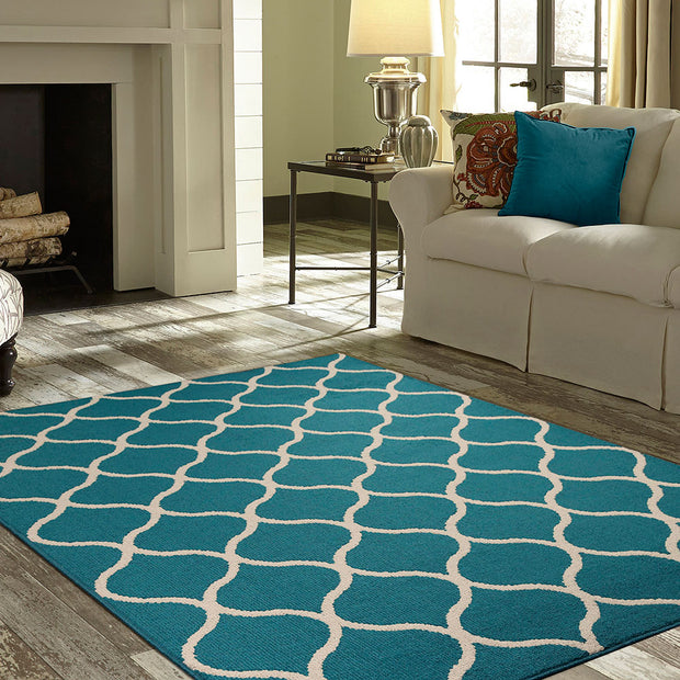 Trendy Area Rug and Runner
