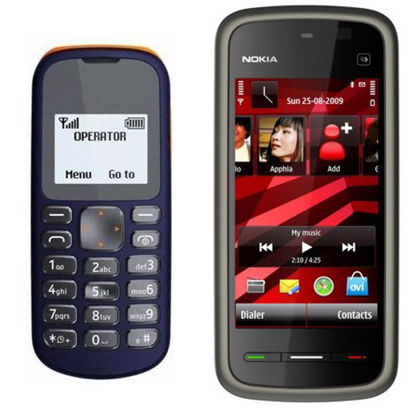 Branded 103 And Nokia 5233 Mobile Phone