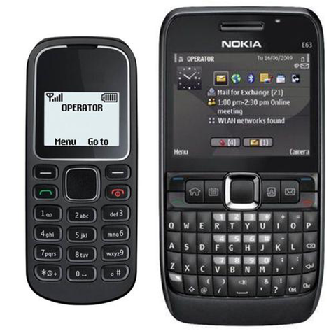 Branded 1280 And Nokia E63 Mobile Phone