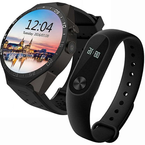 Advanto Pro Smart Watch & Mii Fitness Band