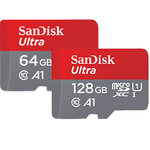 Combo of SanDisk Ultra 64GB & 128GB micro SD Memory Card
