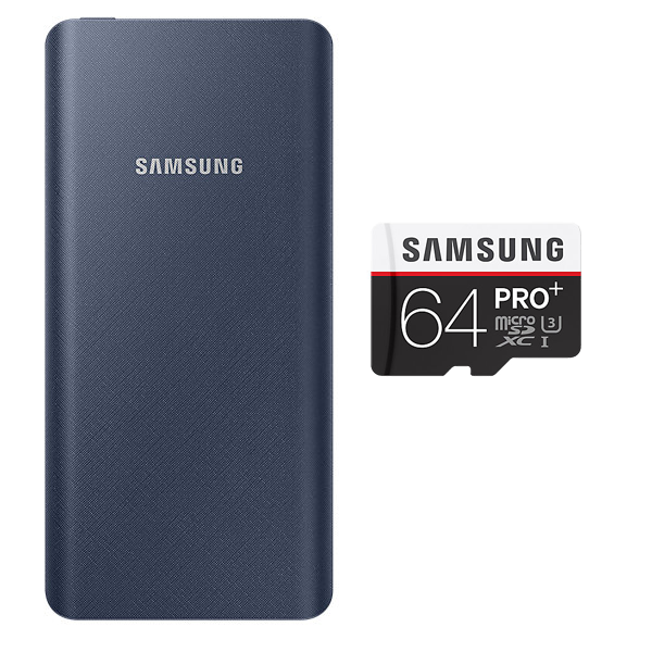 Buy Samsung PowerBank 20800 mAh & Get Samsung 64GB Memory Card Free