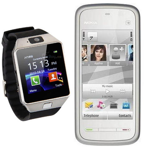 Nokia 5233 with Free Smart Watch