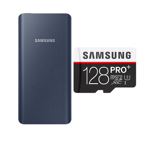 BUY SAMSUNG POWERBANK 20800 MAH & GET SAMSUNG 128GB MEMORY CARD FREE