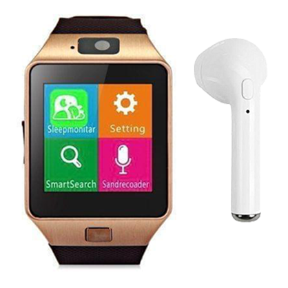 Combo of TWISTER Smartwatch + Zing Bluetooth Mono Earpod