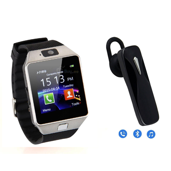 TWISTER Smartwatch with Universal Bluetooth Headphone
