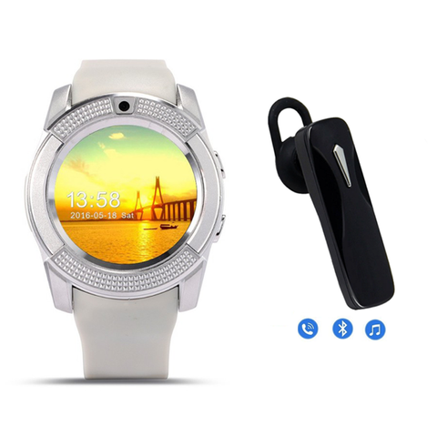 Torpedo Android Smartwatch with Universal Bluetooth Headphone -