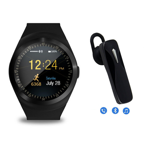 JETSTAR Smartwatch with Universal Bluetooth Headphone