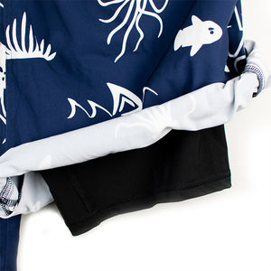 NEW - DryFins Jellyfish in Navy for Boys