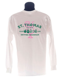 Adult Long Sleeve St Thomas in White