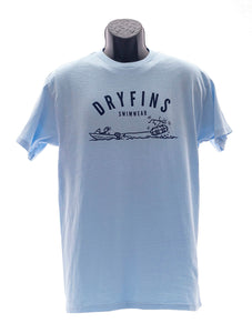 Adult Tubing T-shirt in Blue