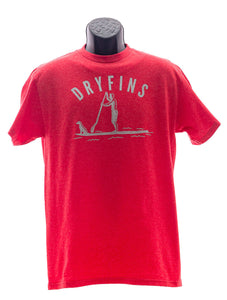 Adult Short Sleeve Paddle Board in Red