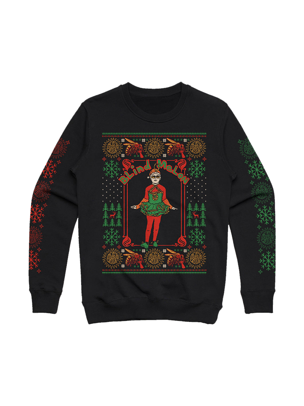 2018 Holiday Sweater (Black)
