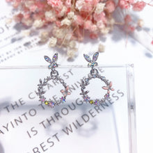 Load image into Gallery viewer, Gorgeous bunny design rabbit earrings.