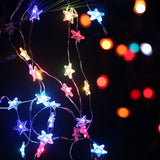 LED Pink Rabbit Fairy String Lights